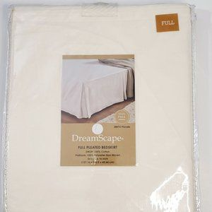 ‼️NEW‼️DreamScape FULL Pleated Bedskirt IVORY
